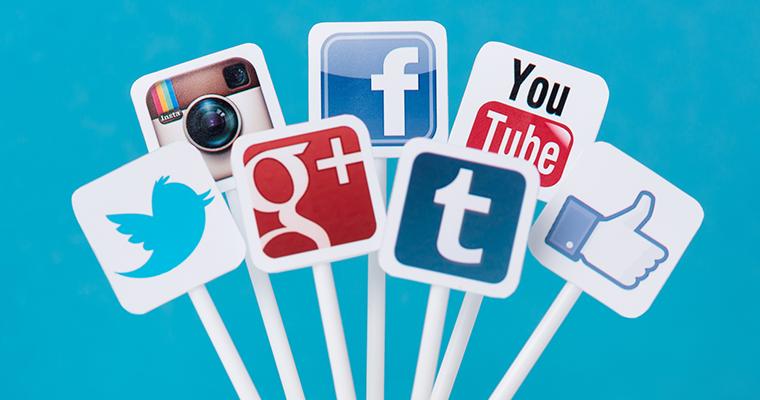 sociala medier outstock